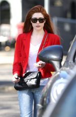NICOLA ROBERTS Out and About in Los Angeles