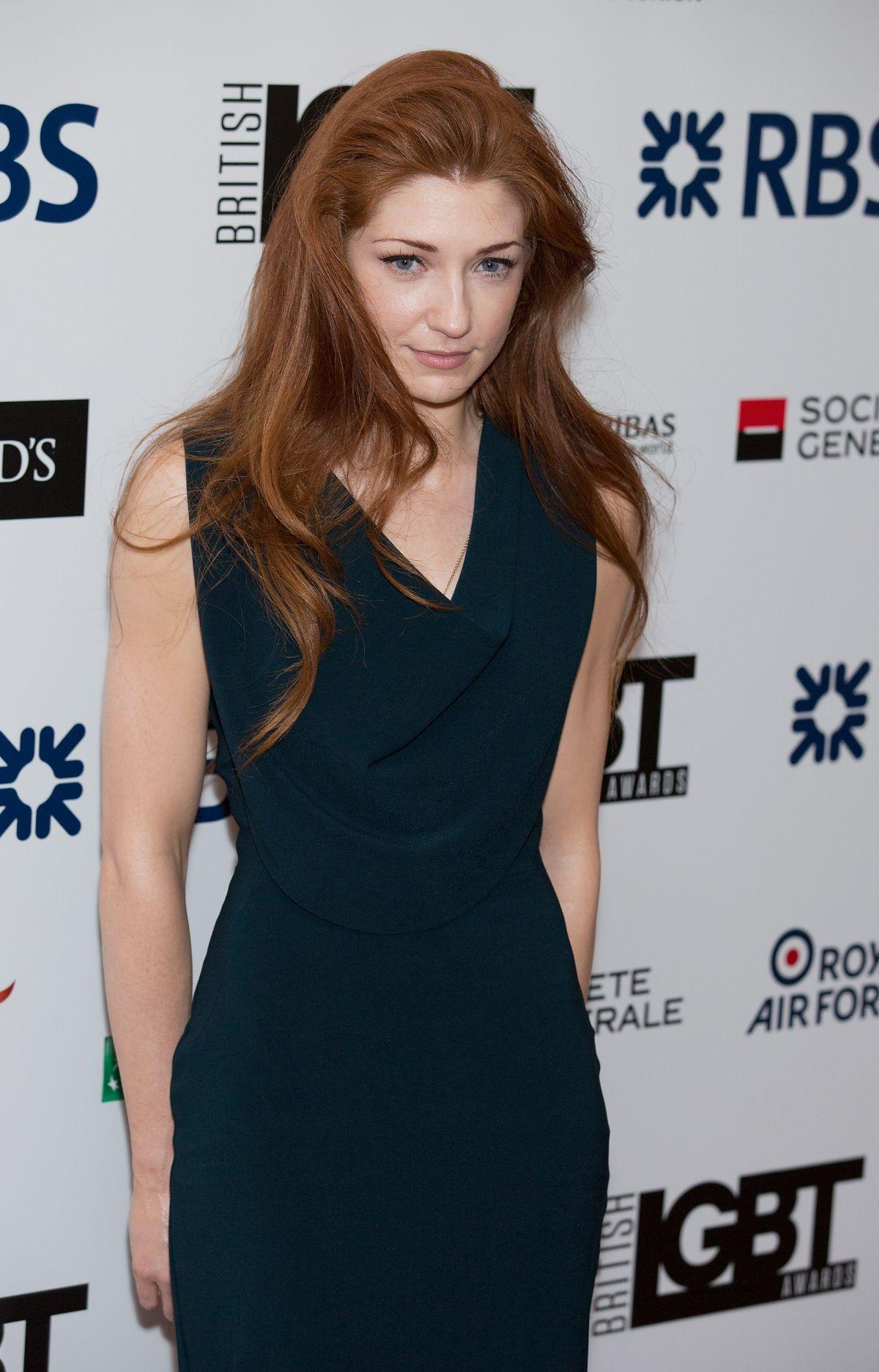 NICOLE ROBERTS at LGBT Awards 2015 in London
