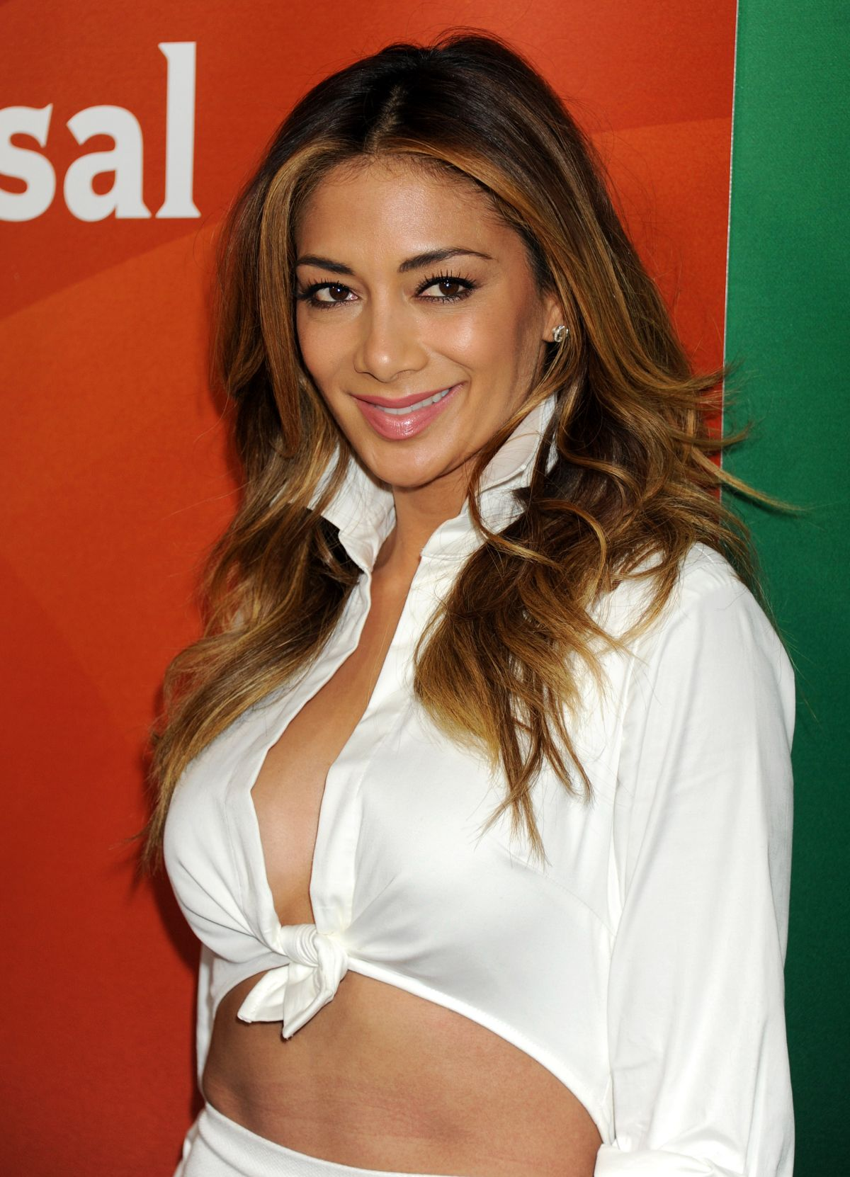 NICOLE SCHERZINGER at 2015 NBCUniversal Summer Press Day in Pasadena ...