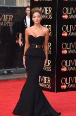 NICOLE SCHERZINGER at 2015 Olivier Awards in London