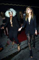 NICOLE SCHERZINGER Leaves Warwick Nightclub in Hollywood