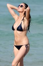 NICOLE TRUNFIO on Bikini at Bondi Beach in Sydney