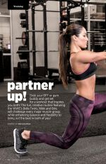 NIKKI and BRIE BELLA in Muscle & Fitness Hers Magazine, May/June 2015 Issue
