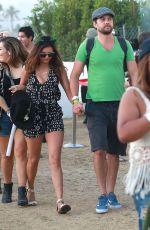 NINA DOBREV at Coachella Music Festival in Indio 04/18/2015