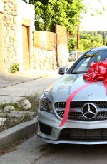 OEYTON LIST Gets a New Mercedes for 17th Birthday