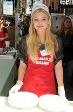 OLIVIA HOLT at Los Angeles Mission Easter Event