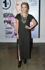 OLIVIA HOLT at Popular Launch Party at Siren Lab Studios in Los Angeles