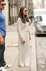 OLIVIA MUNN Out and About in New York 04/17/2015