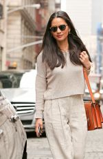 OLIVIA MUNN Out and About in Soho 04/17/2015