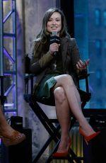 OLIVIA WILDE at AOL Build Speaker Series in New York