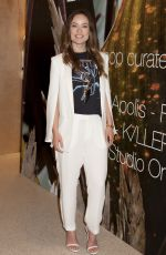 OLIVIA WILDE at H&M Conscious Exclusive Collection Pop-up Opening in New York