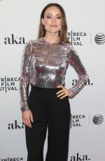OLIVIA WILDE at Meadowland Premiere at Tribeca Film Festival in New York
