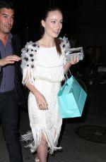 OLIVIA WILDE at Tiffany Blue Book Dinner in New York