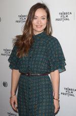 OLIVIA WILDE at Tribeca Talks: Master Class in New York