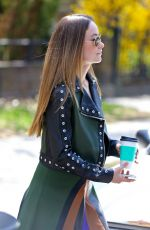OLIVIA WILDE Out and About in New York 04/18/2015