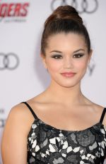 PARIS BERELC at Avengers: Age of Ultron Premiere in Hollywood