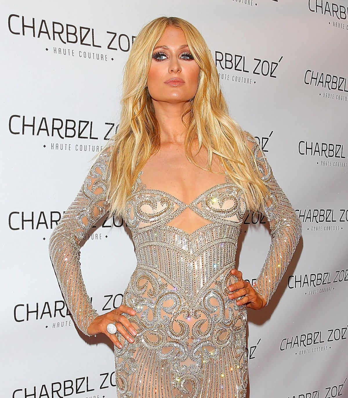 PARIS HILTON at Charbel Zoe Paris Hilton