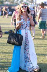 PARIS HILTON at Coachella Valley Music Festival, Day 3