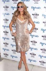 PARIS HILTON at Rehab Party at Hard Rock Hotel in Las Vegas
