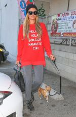 PARIS HILTON Out and About in West Hollywood