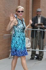 PENELOPE ANN MILLER Arrives at The View in New York