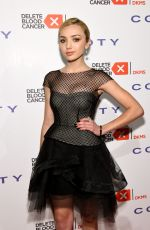 PEYTON LIST at 2015 Delete Blood Cancer Gala in New York