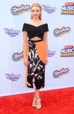 PEYTON LIST at 2015 Radio Disney Music Awards in Los Angeles