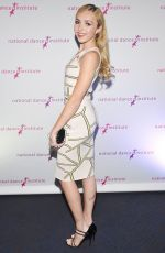 PEYTON LIST at National Dance Institute Gala 2015 in New York