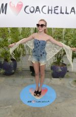 PEYTON LIST at Official H&M Loves Coachella Party in Palm Springs