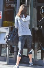 PIPPA MIDDLETON Arrives at a Gym in London 04/28/2015