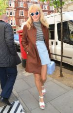 PIXIE LOTT Arrives at BBC Studios in London 04/20/2015