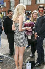 PIXIE LOTT Arrives at ITV Studios in London