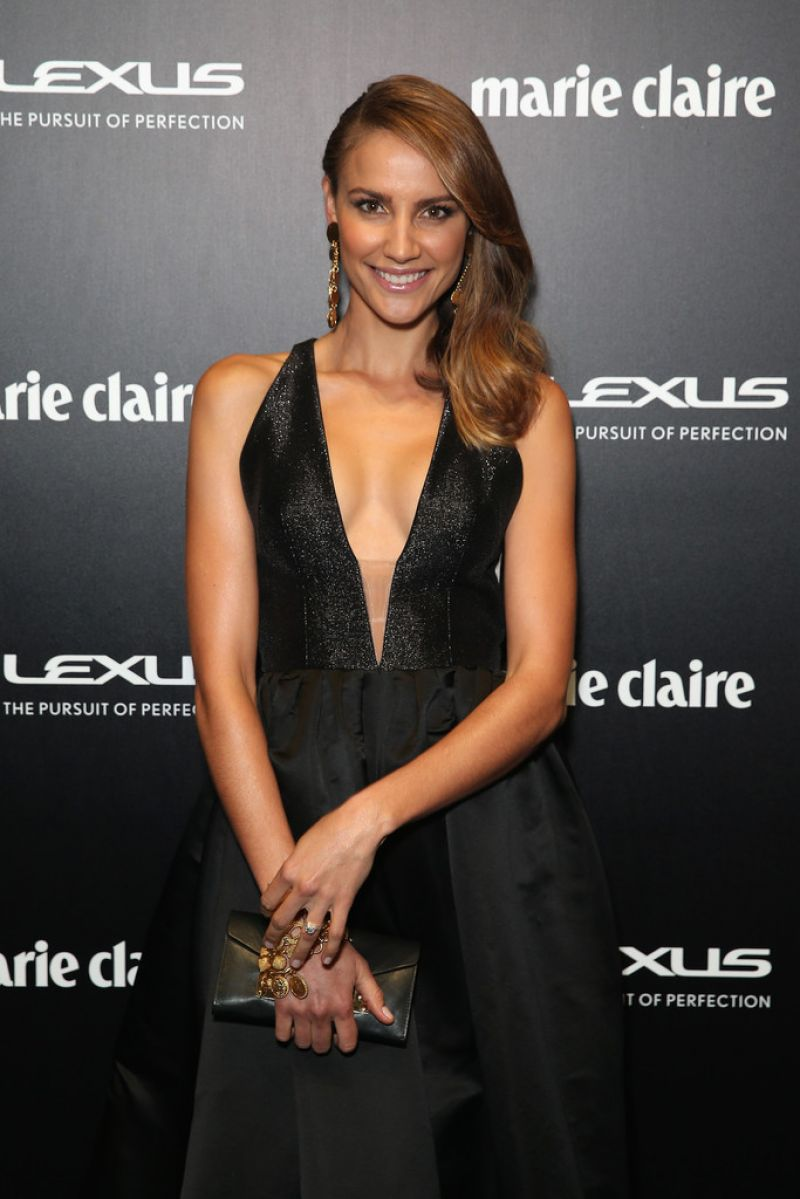 RACHAEL FINCH at 2015 Prix De Marie Claire Awards in Sydney