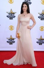 RAINEY QUALLEY at Academy of Country Music Awards 2015 in Arlington