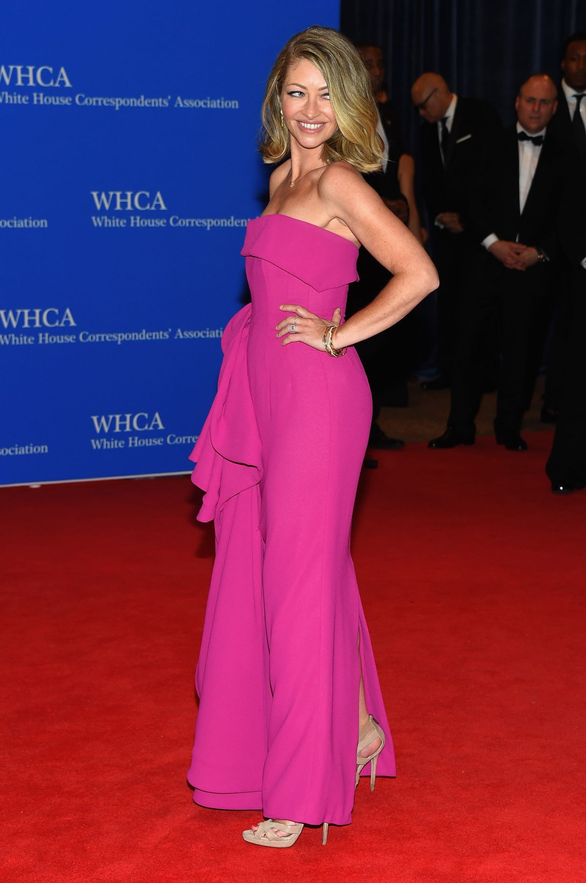 REBECCA GAYHEART at White House Correspondents Association Dinner in Washington