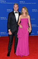 REBECCA GAYHEART at White House Correspondents Association Dinner in Washington