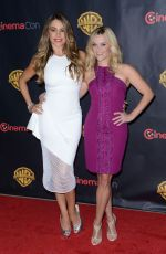 REESE WITHERSPOON and SOFIA VERGARA at Cinemacon in Las Vegas