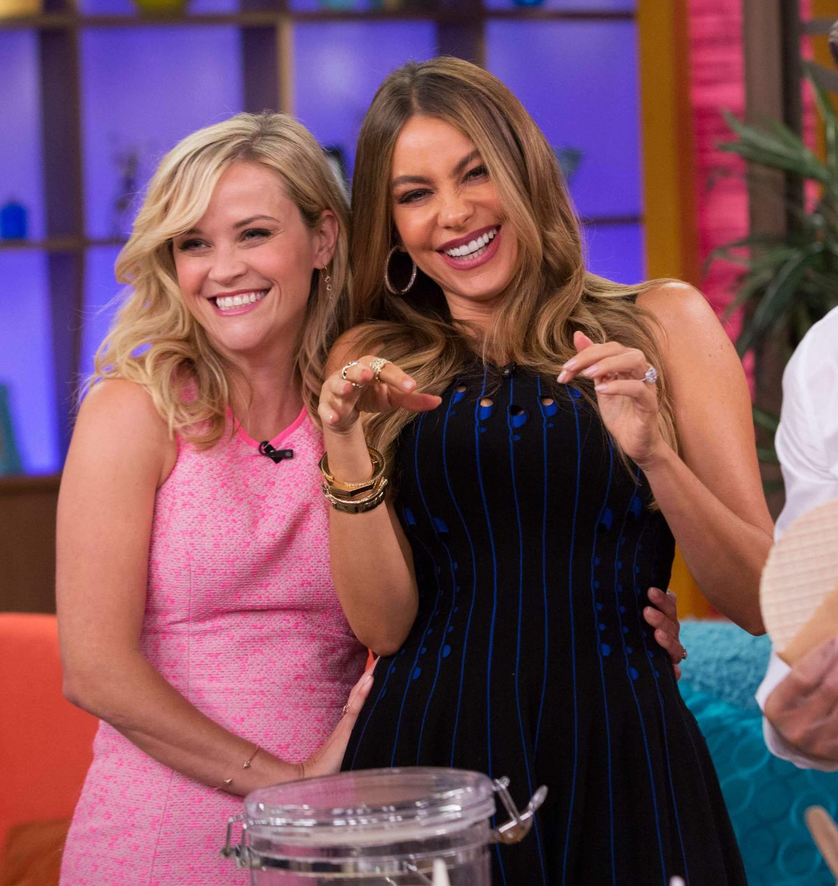 REESE WITHERSPOON and SOFIA VERGARA at Univision