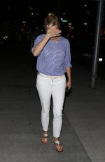 REESE WITHERSPOON Arrives at Palm Restaurant in Beverly Hills 04/29/2015