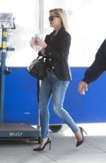 REESE WITHERSPOON at JFK Airport in New York
