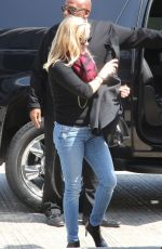 REESE WITHERSPOON in Jeans at LAX Airport in Los Angeles