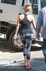 REESE WITHERSPOON in Tights Out and About in Pacific Palisades 04/28/2015