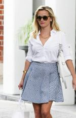 REESE WITHERSPOON Leaves Her Office in Beverly Hills 04/22/2015