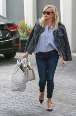 REESE WITHERSPOON Out for Breakfast in Brentwood