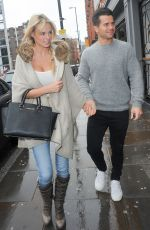 RHIAN SUDGEN Out for Lunch in Manchester 04/12/2015