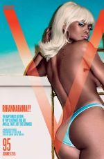 RIHANNA in V-Magazine, V95 Summer 2015 Issue