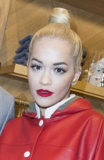 RITA ORA at Tommy Hilfiger Boutique Opening Party in Paris