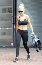 RITA ORA in Tights at LAX Airport in Los Angeles