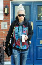 RITA ORA Leaves Her Home in London 04/23/2015