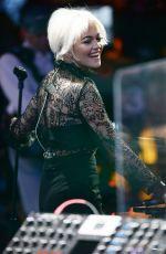 RITA ORA on the Set of Good Morning America in New York 04/20/2015